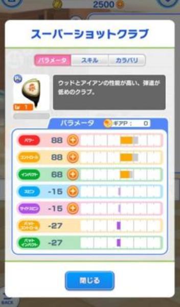 みんゴル PR スーパーショットクラブ チケット8枚 リセマラアカウント アプリ|みんなのゴルフ(みんゴル)