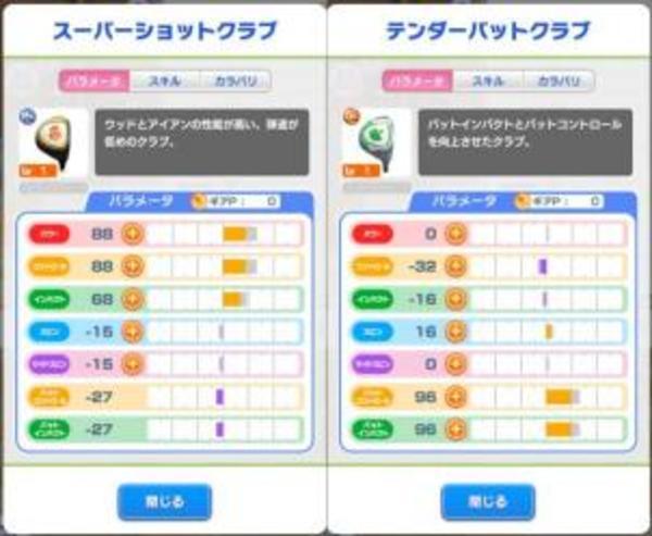みんゴル PR スーパーショットクラブ チケット8枚 GR リセマラアカウント アプリ|みんなのゴルフ(みんゴル)