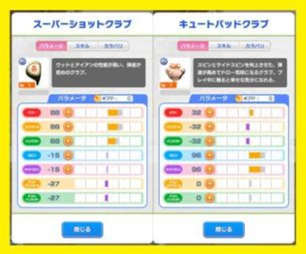 みんゴル PR×2 スーパーショットクラブ / キュートパッドクラブ チケット8枚 リセマラアカウント アプリ|みんなのゴルフ(みんゴル)