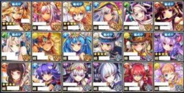 神姫PROJECTプロジェクト アカウント SSR神姫9 Rank80|神姫プロジェクト A(神プロ)
