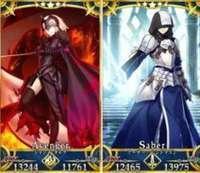 FGO-Fate/Grand Order fgo アーサー プロト ジャンヌオルタ リセマラアカウント H