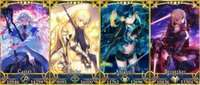 FGO-067◆FGO Fate/Grand Order リセマラアカウント 聖唱石470↑ マーリン ジャンヌダルク 謎のヒロインX 謎のヒロインXオルタ