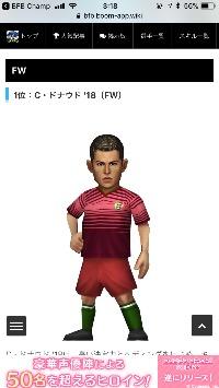 bfb 最強FW Cドナウド  BFBチャンピオンズ