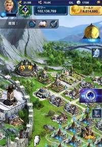 王城37レベル パワー1億越|ファイナルファンタジー15(FF15) 新たなる王国