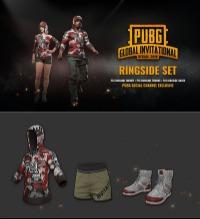 PUBG PGI RINGSIDE SET スキンセット PUBG