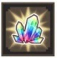 ダンメモ 虹水晶5100個前後 11連チケ×2 星4確定×5 星3確定×7 初期アカウント ダンまち メモリアフレーゼ(ダンメモ)