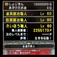 ドラゴンクエスト10 1000万ゴールド 安全です 個人生産品|ドラクエ10(DQX)