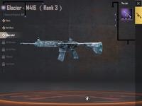 引退データ M416 Frostyスキンレベル3! S3S4征服者フレームあり|PUBG MOBILE