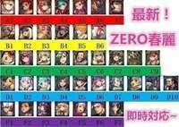 ☆5 ZERO春麗/初音ミク/雪ミク/コウガ/ダナ/マフデト/コウガ/イブ ☆5多数|デスチャ(デスティニーチャイルド)