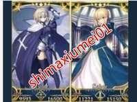 Fate/Grand Order ★5ジャンヌ+★5アルトリア|FGO