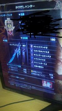 3月19日更新 PS4 MHW  HR63 女ハンター マム武器あり|モンハンワールド(MHW)