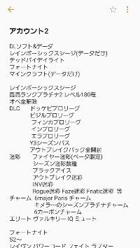 ファイヤー迷彩アカウント|レインボーシックス シージ
