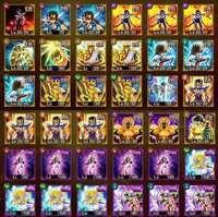 一流 最高 アカウント 神シリーズコンプ|聖闘士星矢ギャラクシースピリッツ(ギャラスピ)