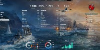 WoWs ASIA鯖 6500戦↑ 勝率59% ↑ T10艦艇10隻|World of Warships(wows)