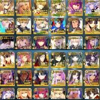 星5 31種(42騎)【👑スカディ・マーリン・孔明・玉藻所持👑】廃課金アカウント|FGO
