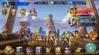 iOS 引退アカウント(白羊宮サーバー)|聖闘士星矢ギャラクシースピリッツ(ギャラスピ)