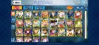 引退・星5宝具込み39体・聖晶石90・カーマ・スキルマ多数|FGO