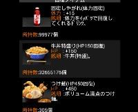 単車の虎 アプリ版 牛丼特盛100万個 複数可|単車の虎(単虎)