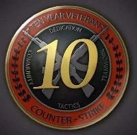 10年アカウント|Counter-Strike: Global Offensive(CS: GO)