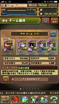 rank197((微リセ垢|パズドラ(パズル&ドラゴンズ)