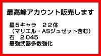 【期間限定割引】最高峰アカウント 星5キャラ22体 アナザーエデン(アナデン)
