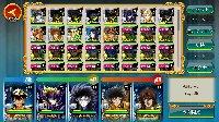 聖闘士星矢ゾディアックブレイブ Android レベル84 Rハデ、タナ、ヒュプ、Aシュラ 聖闘士星矢ゾディアックブレイブ