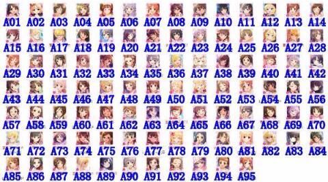 最新 デレステ(スターライトステージ) SSR人気1-20体 選択可リセマラ |デレステ(スターライトステージ)