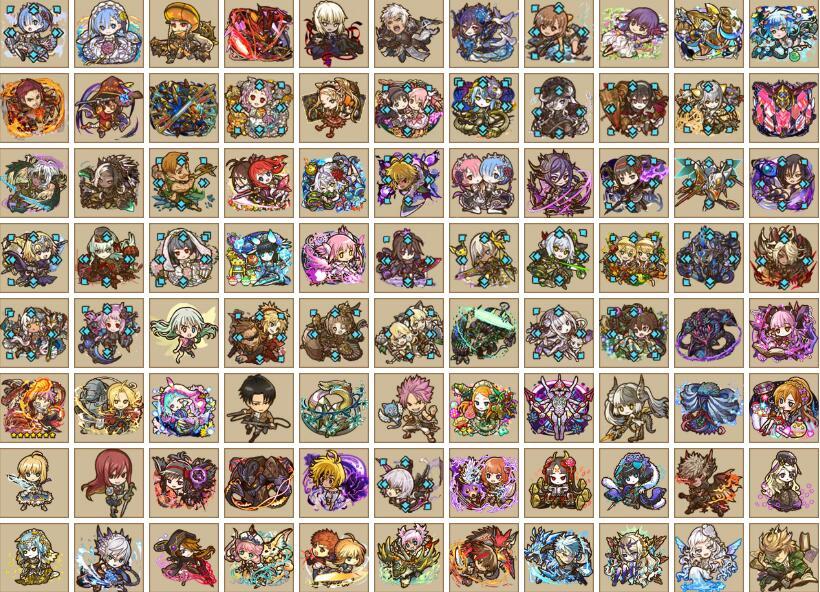最新サモンズボード 限定 人気SSR1~30体 リセマラ 検索可|サモンズボード