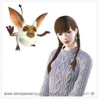 PS4 エーテライトイヤリング ミニオン グレムリン|ファイナルファンタジー14(FF14)