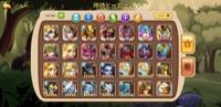重課金引退データ アイダ ホルス 戦力370万Android|アイデルヒーローズ(Idle heros)