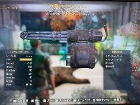PS4 血爆ミニガン|Fallout76(フォールアウト76)