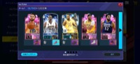 引退垢です。パワー19000(値下げしました) NBA 2K Mobile Basketball