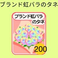 虹種 200個 虹薔薇の種 農園婚活|農園婚活
