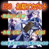 ★5+聖晶石大量 検索用 FGO初期アカウント これからはじめる方|FGO