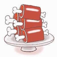グラコレ 肉500個 ワンピースグランドコレクション(グラコレ)