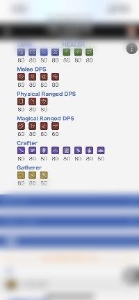 FF14 全ジョブ&全ギャザクラカンストアカウント!|ファイナルファンタジー14(FF14)