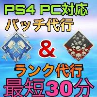総合実績80件以上【最安値】PS4 PC ダブハン爪痕3000円&ランク代行|APEX Legends