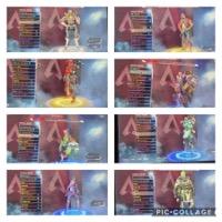 お得❗️スパレジェ3つ(クナイ、グローブ、バチ)所持 apexコイン17500付|APEX Legends
