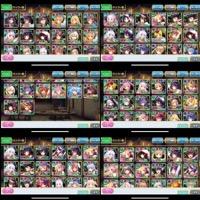 オトギフロンティア+神姫プロジェクトDMMアカウント売ります🎖スター7654.ジェム22360|オトギフロンティア