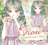 Rose Afternoon tea フルセット|センシル ファンタジー着せ替えバトル