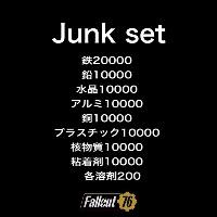 ps4 ジャンクセット(単価表付き)|Fallout76(フォールアウト76)