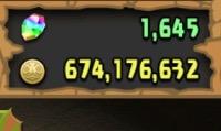 ランク550以上 魔法石1600以上 モンポ300万以上 引退アカウント|パズドラ(パズル&ドラゴンズ)