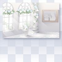 北国の魔女の光さす部屋の壁紙 床|ポケラン(ポケットランド)