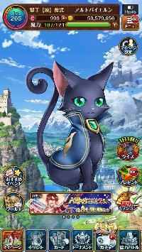 クリスタル1100個以上あり Lv222 魔導士ランク13段|魔法使いと黒猫のウィズ(黒ウィズ)